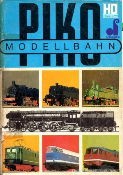 Katalog kolejek PIKO, skala H0, NRD, ok. 1975