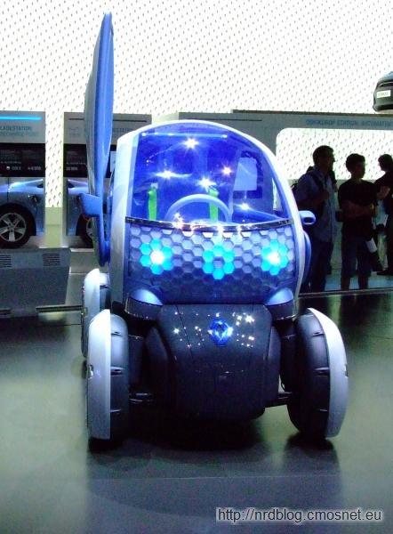 Renault Twizy - concept car na IAA 2011
