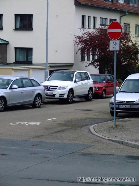 Rowery mogą pod prąd, Frankfurt