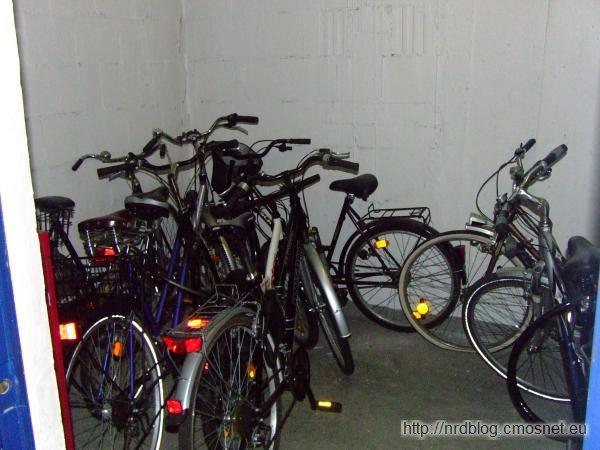 Rowery w rowerowni w Niemczech