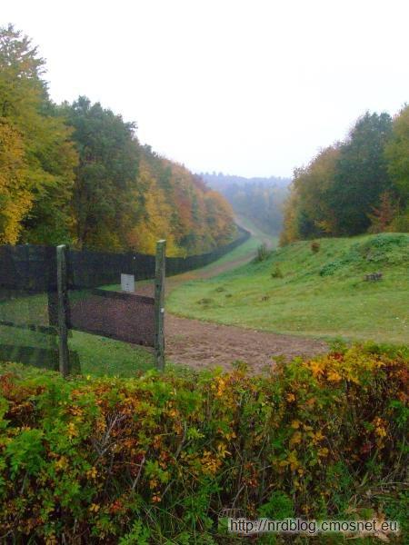 Grenzmuseum Schifflersgrund - pas graniczny