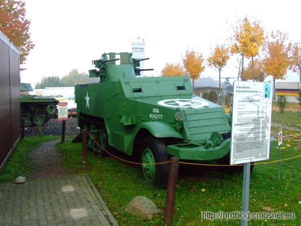 Grenzmuseum Schifflersgrund - Half Track