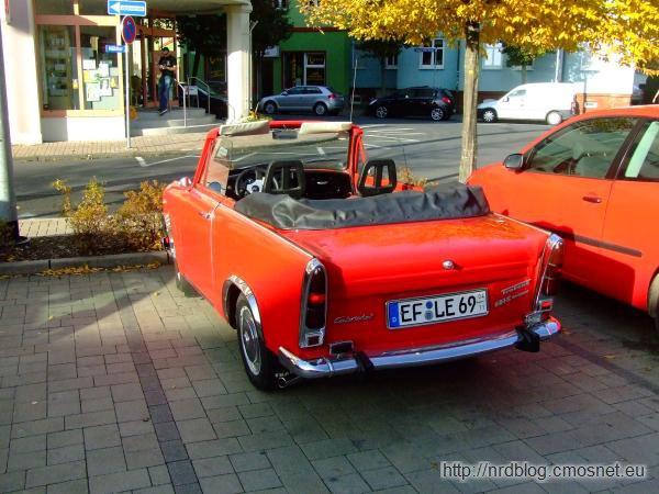 Pimpowany Trabant w Ilmenau