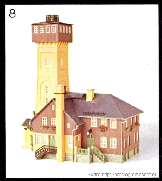 Katalog domków do kolejek VERO - Berggasthaus Pohlberg. NRD, ok. 1975