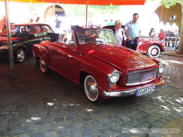Wartburg 1000 Coupe (311/300), NRD
