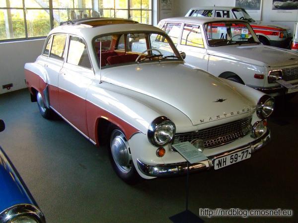 Wartburg 311/108 Luxus Limousine, NRD, 1956-1965