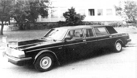 """Volvo 264 TE lang """"Honecker Landaulet"""""""