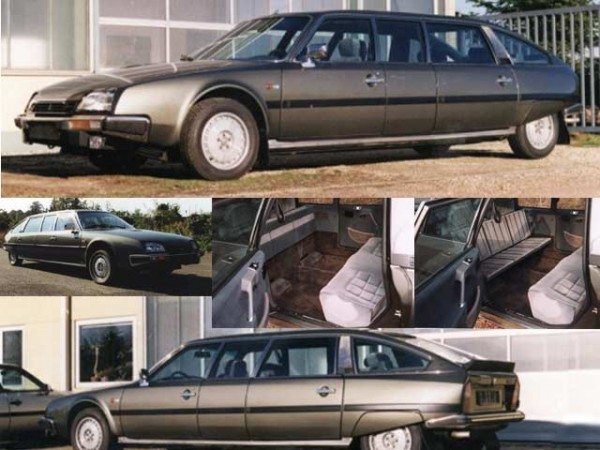 Citroen CX 25 Prestige Honeckera