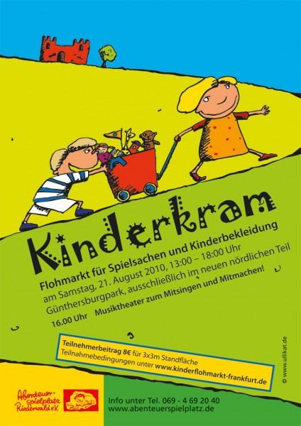 Plakat Kinderkram 2010