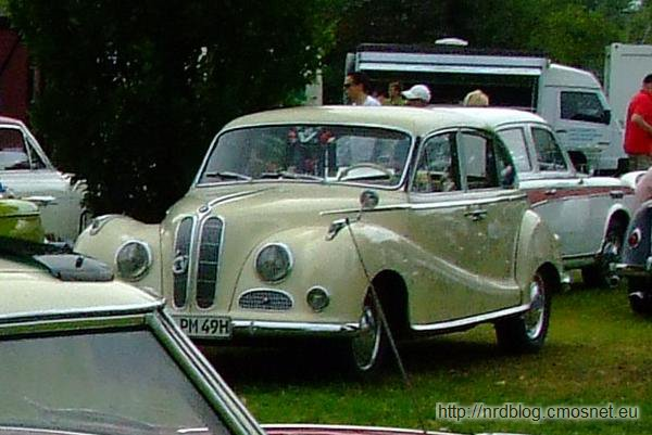BMW 501, 1952-1954
