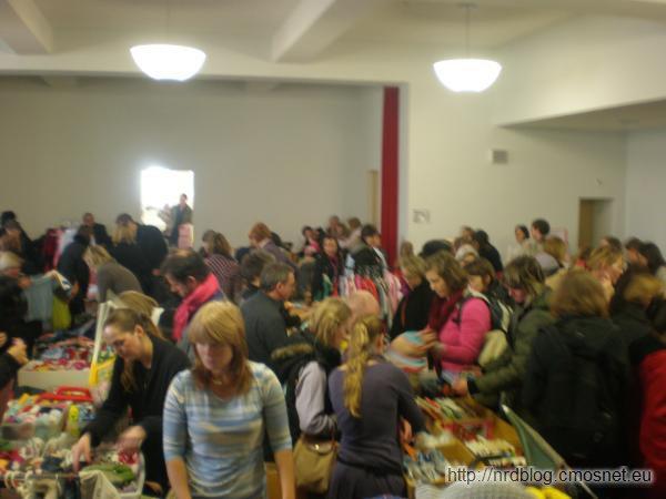 Bazar z rzeczami dla dzieci, Frankfurt