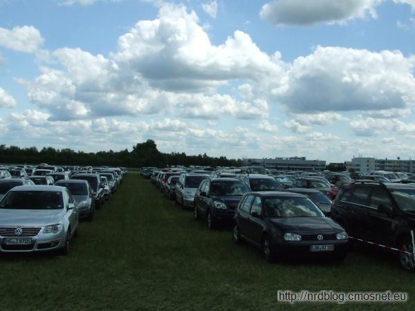 Hessentag 2011 Oberursel - parkujące samochody