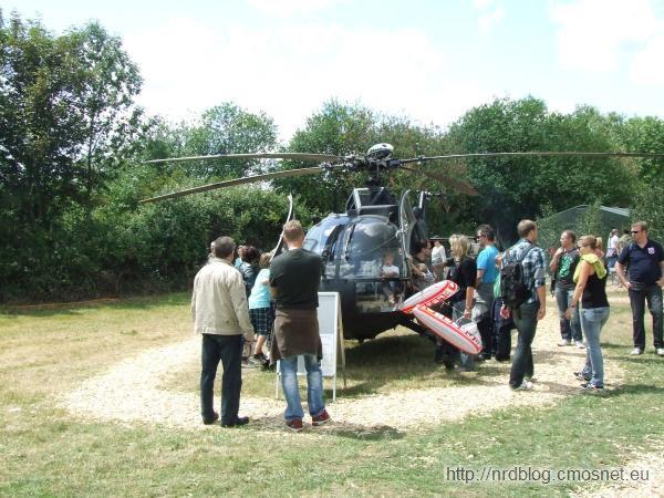 Hessentag 2011 Oberursel - wojskowy śmigłowiec