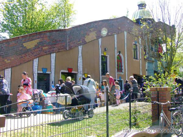 Hundertwasser KiTa we Frankfurcie