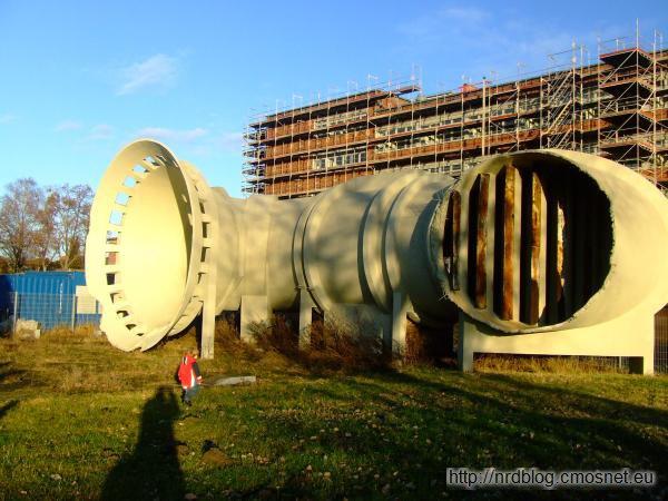 Tunel aerodynamiczny Junkersa