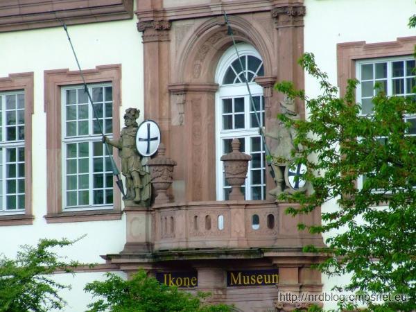 Muzeum Ikon w klasztorze krzyżackim we Frankfurcie