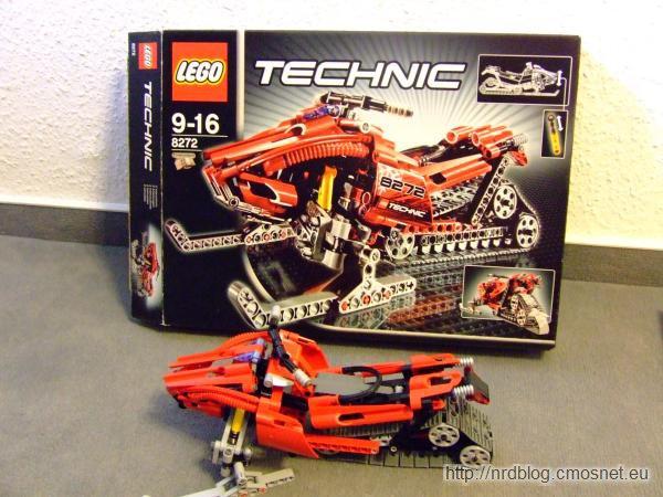 LEGO 8272 Snowmobile