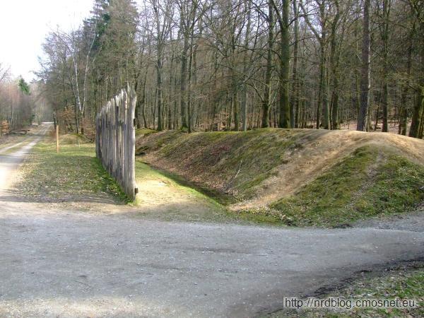 Limes - rekonstrukcja płotu granicznego