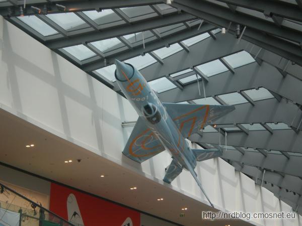 Centrum handlowe Loop5 Weiterstadt - MiG 21