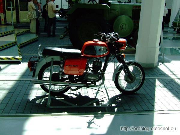 Motocykl MZ TS 150, NRD