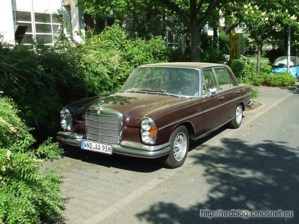Mercedes W109 (300 SEL 6.3), 1967-1972