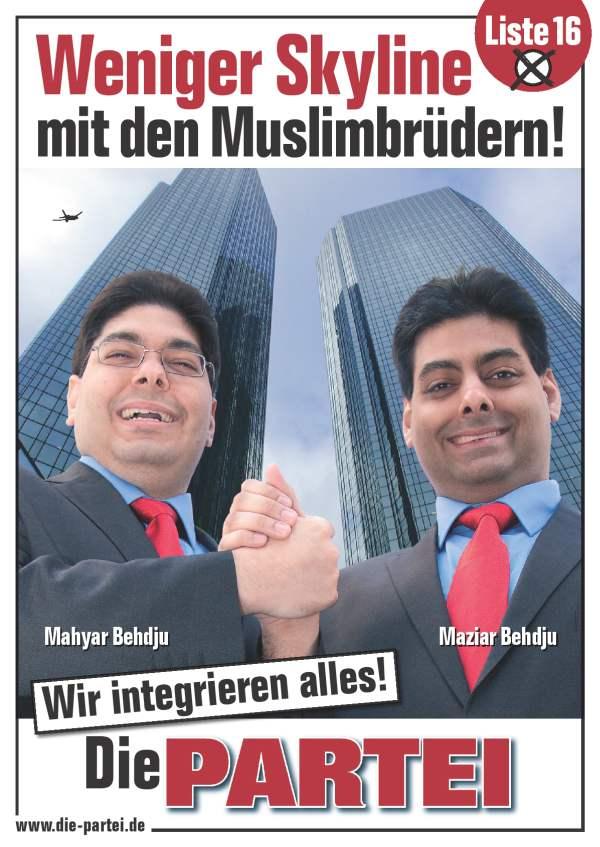 Muzułmańscy bracia zintegrują wszystko
