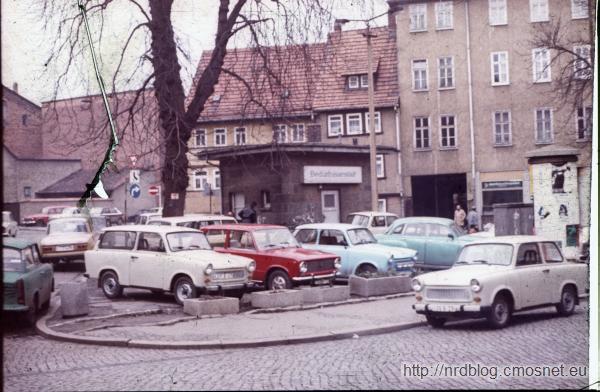 Eisenach - toaleta publiczna, NRD, 1988