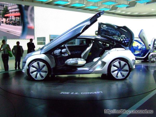 Renault Zoé Z.E. Concept na IAA 2009