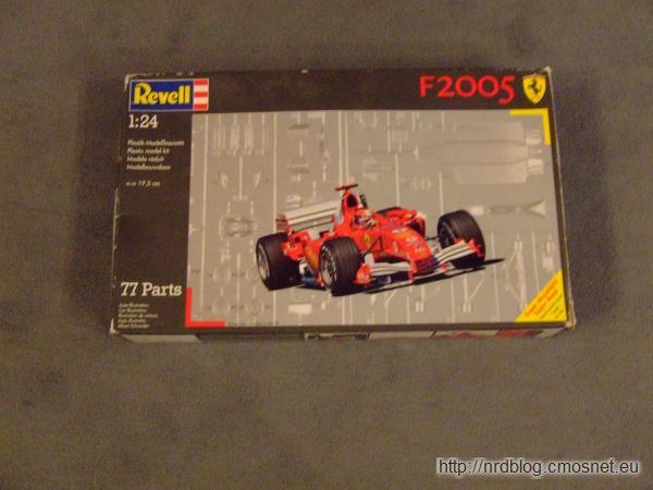 Revell Ferrari F2005