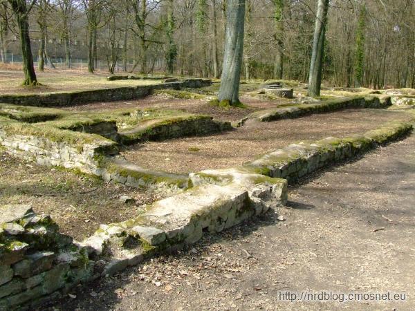 Saalburg - resztki zabudowań z innych okresów