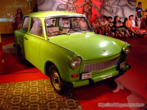Muzeum The Story of Berlin - Trabant