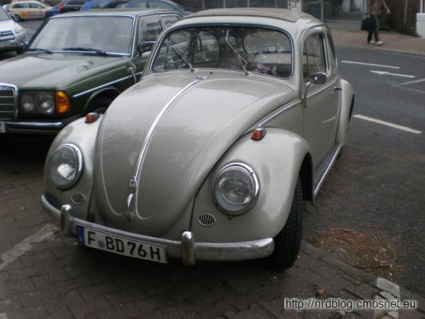 VW Käfer, 1957-1958