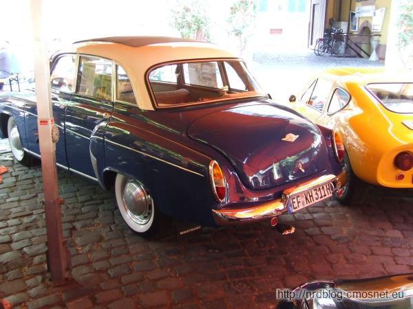 Wartburg 311/108, NRD, 1956-1965