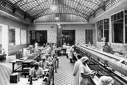 Pierwsza w Europie taśma produkcyjna w zakładach Bahlsena w Hannoverze