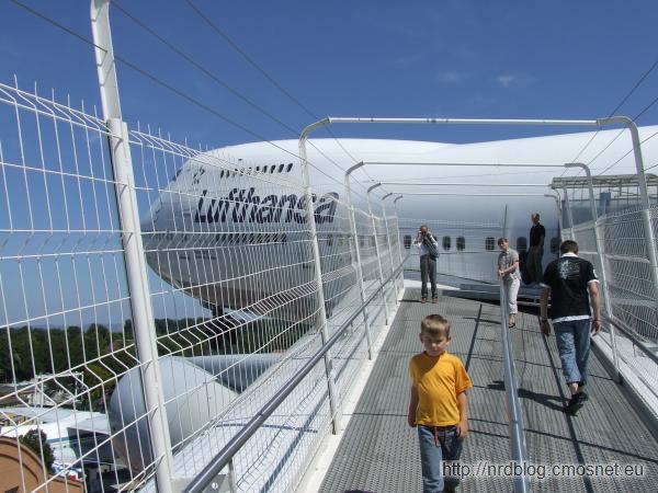 Technikmuseum Speyer - na skrzydle Jumbo Jeta