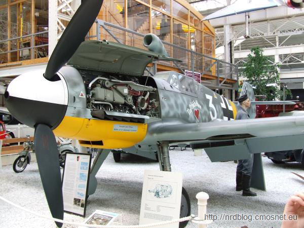 Technikmuseum Speyer - Messerschmitt Me-109