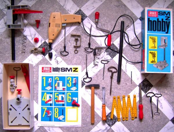 Wiertarka PIKO i narzędzia dla dzieci