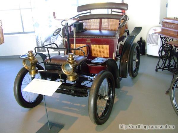 """Wartburg-Motorwagen """"Modell 2"""" 1899"""