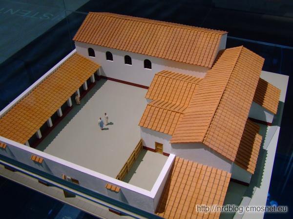 Museum der Badekultur Zülpich - Rekonstrukcja łaźni