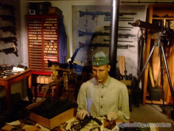 Atlantikwall Museum Oostende - zbrojownia
