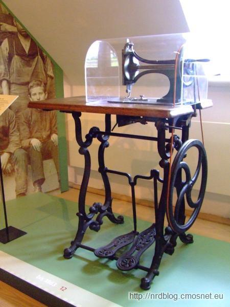 Pierwsza maszyna do szycia firmy Opel, 1862