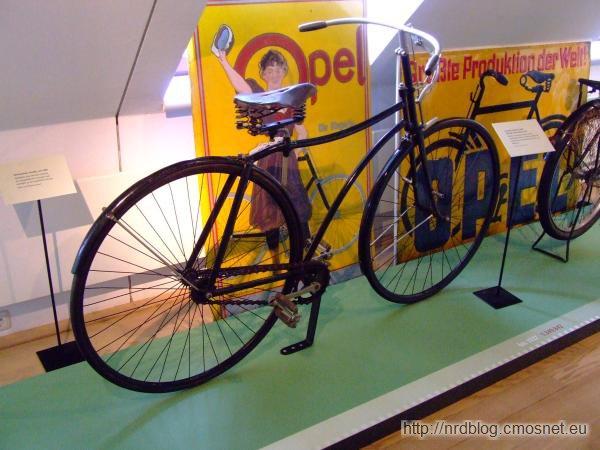 Rower firmy Opel, 1888