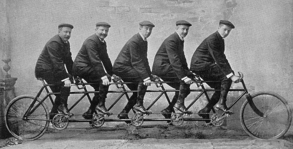 Bracia Opel Źródło: Sport-Album der Rad-Welt 1912