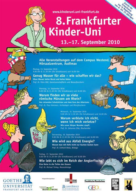Plakat Kinder Uni 2010