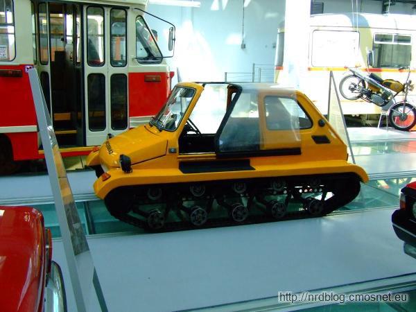 Pojazd terenowy na bazie Fiata 126p
