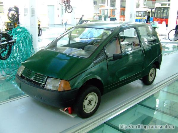 Prototyp samochodu FSM Beskid 106