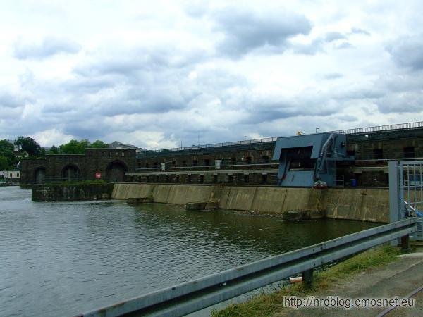 Mosellum Koblenz - stopień wodny
