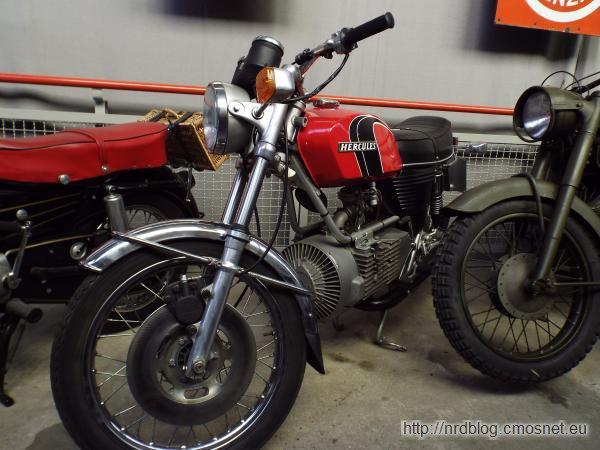 "Motocykl ""Hercules W 2000"" z silnikiem Wankla"