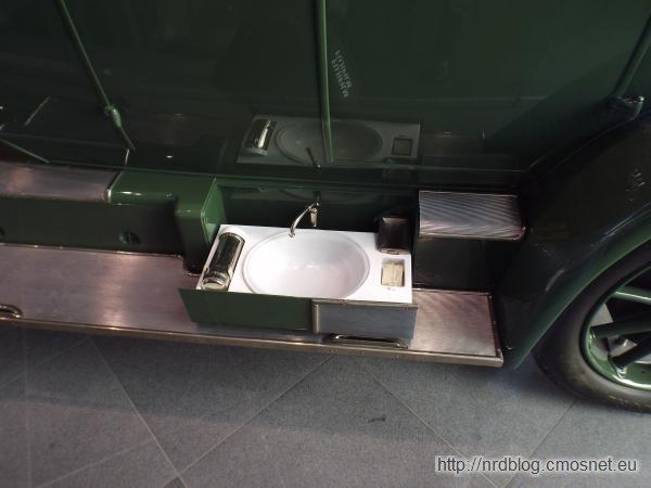 Horch 10/35 PS - umywalka