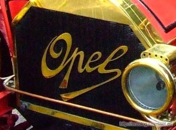 Wczesne logo Opel (4/8 PS Doktorwagen)